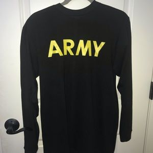 Vintage Army long sleeve t-shirt size SMALL